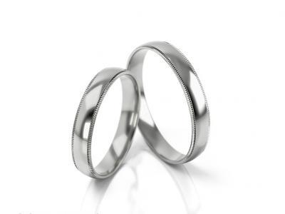 Snubní prsteny - vzor 290