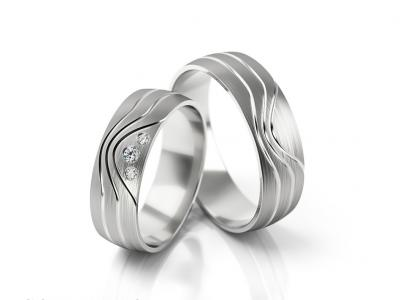Snubní prsteny - vzor 291