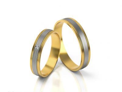 Snubní prsteny - vzor 294