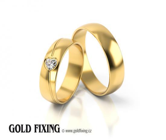 Snubní prsteny - vzor 295