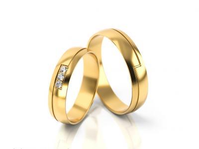 Snubní prsteny - vzor 297