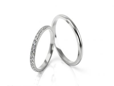 Snubní prsteny - vzor 298
