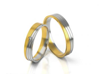 Snubní prsteny - vzor 299
