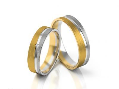 Snubní prsteny - vzor 300