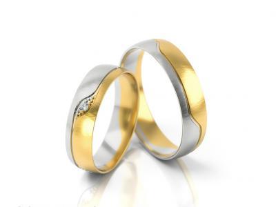 Snubní prsteny - vzor 301