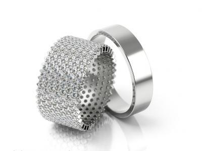 Snubní prsteny - vzor SPE001