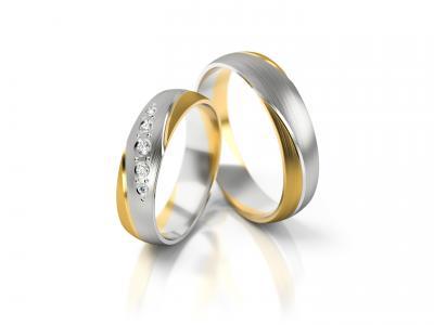 Snubní prsteny - vzor 302