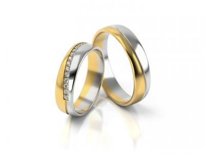 Snubní prsteny - vzor 308