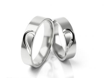 Snubní prsteny - vzor 309