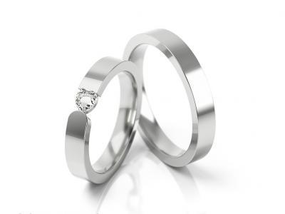 Snubní prsteny - vzor 312