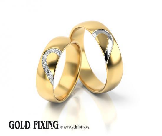 Snubní prsteny - vzor 315