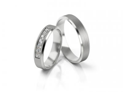 Snubní prsteny - vzor 316