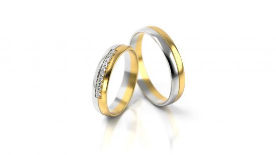 Snubní prsteny - vzor 318