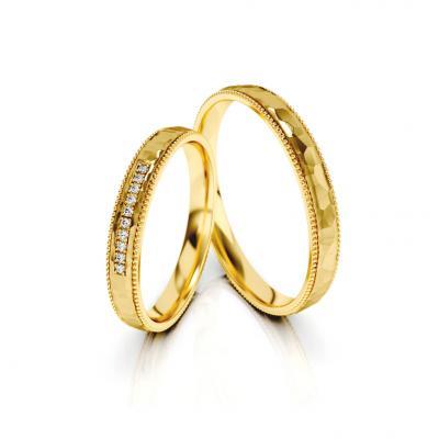 Snubní prsteny - vzor 321