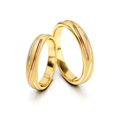 Snubní prsteny - vzor 324