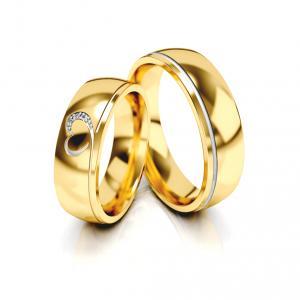 Snubní prsteny - Vzor 331