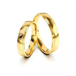 Snubní prsteny - Vzor 326